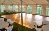 Dance floor- tent