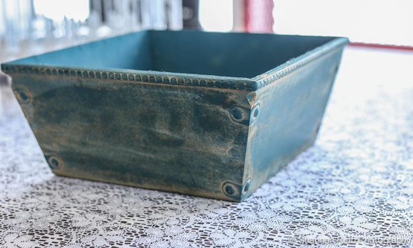 Antique Square Bowl